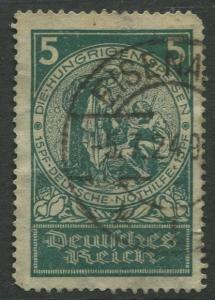 STAMP STATION PERTH Germany #B8 Semi Postal Issue Used CV$3.50.