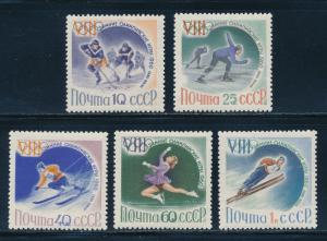 Russia - Squaw Valley Olympic Games MNH Set (1960)