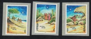 Aruba Christmas Self-adhesive 3v SG#252-254