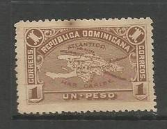 Dominican Republic 119 MNG MAP Z4831-4