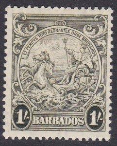 Barbados Sc #200a MH; Mi #167Aa