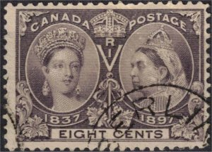 CANADA - 8c QV Jubilee Issue SC56 Used