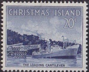 Christmas Island #18 Mint