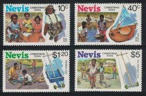 Nevis Christmas Toys 4v 1987 MNH SG#489-492