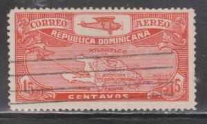 DOMINICAN REPUBLIC Scott # C3 - Used - Early Email Issue