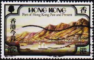 Hong Kong. 1982 20c S.G.407 Fine Used
