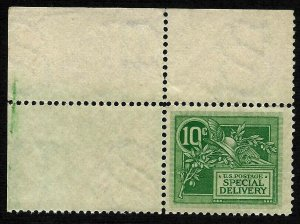 Doyle's_Stamps: ULC Margin 1908 10c MNH Special Delivery Stamp, Scott #E7** (L27