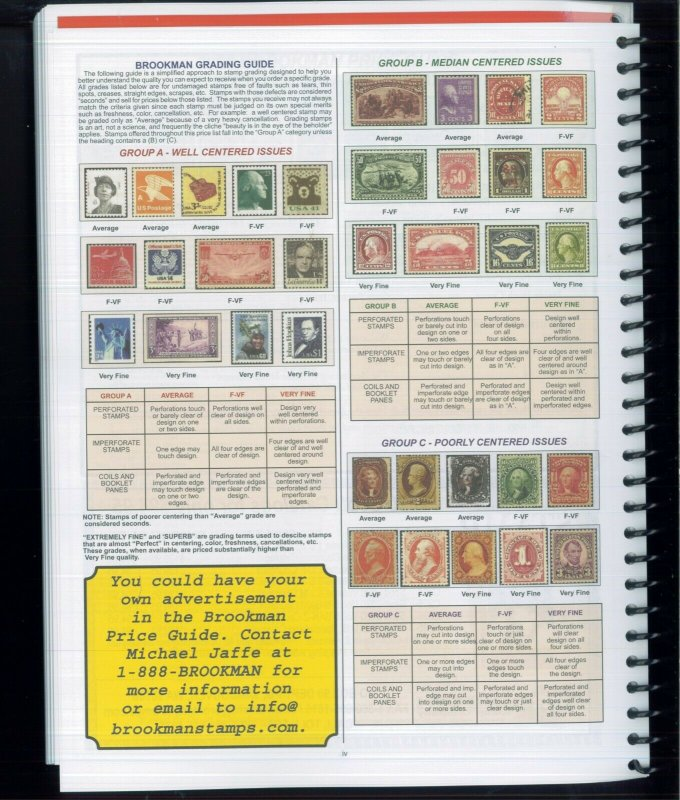 NEW 2021 Brookman Price Guide US Canada UN Postage Stamps & Covers Catalogue