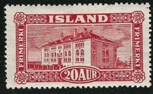 Iceland Attractive Sc #146 Mint OG hr F-VF