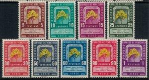 Venezuela #C293-301*  CV $45.80