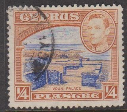Cyprus Sc#143 Used