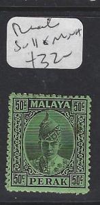 MALAYA  PERAK  (P0609B)  SULTN 50C  SG 116   MNH