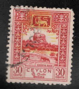 Ceylon Scott 310 Used stamp