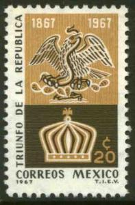 MEXICO 980, Centenary Victory over the Maximilian Empire. MINT, NH. F-VF.