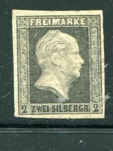 Prussia #4  Unused  no gum