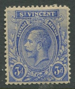 STAMP STATION PERTH St.Vincent #123 KGV Definitive  1921 MLH CV$1.15