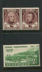 Australia #263-5 MNH