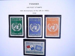 1958-59  Panama  MNH  full page auctions