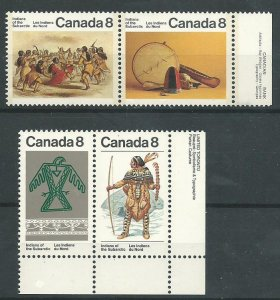 Can 575a,577a   Pairs  M NH VF 1975 PD