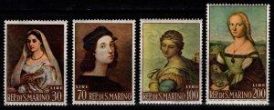 San Marino 1963 Paintings by Raphael, Set [Unused]