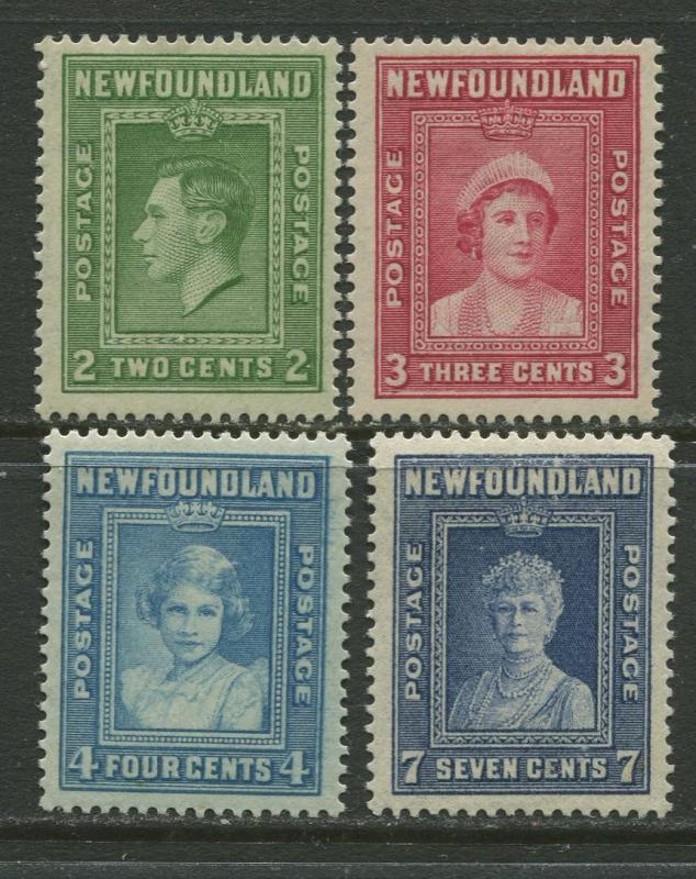 Newfoundland - Scott 245-48 - General Issue - 1938 -MH - Set of 4 Stamp