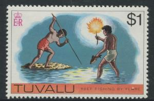 Tuvalu - Scott 35 - Pictorial Definitives -1976 - MVLH - Single $1.00c Stamp