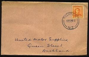NEW ZEALAND 1948 cover NGATEA cds