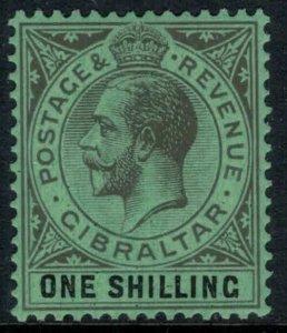 Gibraltar #83*  CV $12.00