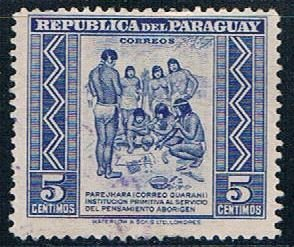 Paraguay Natives 5 - pickastamp (PP8R502)