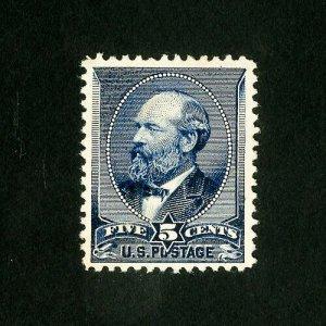 US Stamps # 216 XF Fresh disturbed OG H