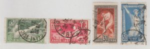 France Scott #198-201 Stamp - Used Set