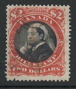 Canada (Revenue) van Dam FB53, used, thick paper