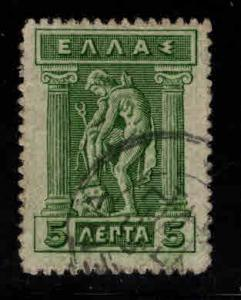 Greece Scott 201 used stamp