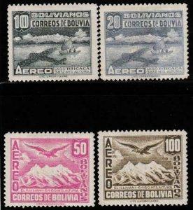 Bolivia 1941 SC C82-85 Used Set