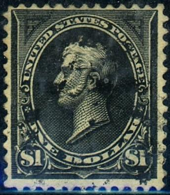 U.S. #276a Used F-VF Sm thin