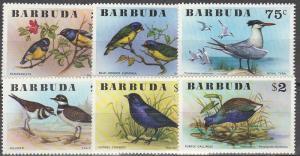 Barbuda #238-43 MNH F-VF CV $9.80 (SU3666)