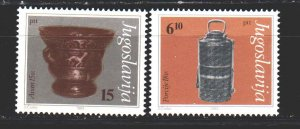 Yugoslavia. 1983. 1970-72 from the series. Museum exhibits. MNH.