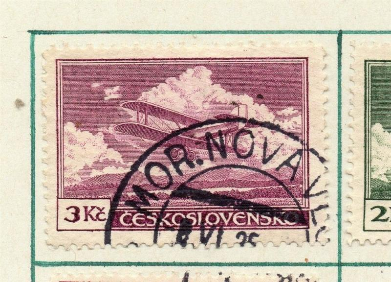 Czechoslovakia 1930 Air Early Issue Fine Used 3K. 230294
