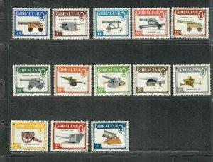 Gibraltar Sc#508-520 M/NH/VF, Cv. $21