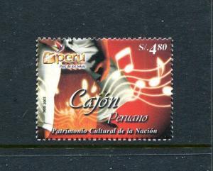 Peru 1364, MNH, Cajon 2003. x29713