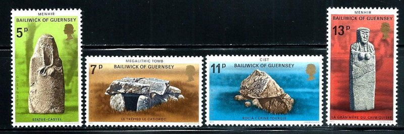 Guernsey MNH 149-52 Prehistoric Monuments