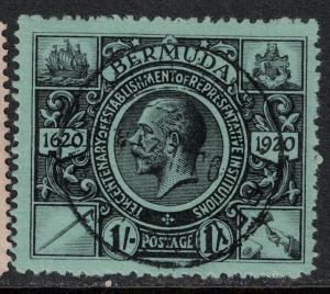 Bermuda 1921 SC 79 Used SVC 65.00 Stamp