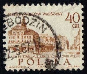 Poland #1337 Old Town Hall; Used (0.25)