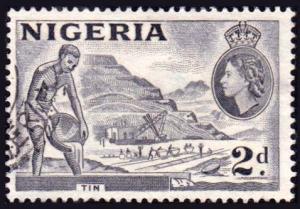 Nigeria Scott 93 Used.