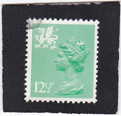Great Britain;  Wales &  Monmouthshire;  #  19   used