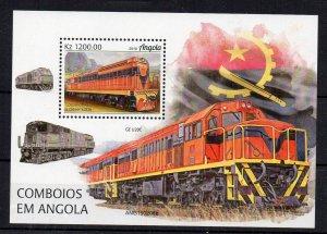 ANGOLA - TRAINS - DIESEL TRAINS - 2019 - M/S
