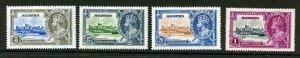Mauritius SG245/48 1935 Silver Jubilee Set M/M