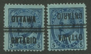 CANADA PRECANCEL OTTAWA 1-91, 1-91-I