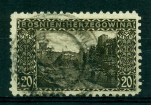 Bosnia & Herzegovina 1906 #36a U SCV(2020)=$4.00