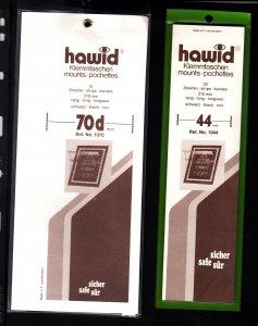 6.5lbs of Hawid mounts,Nice variety!